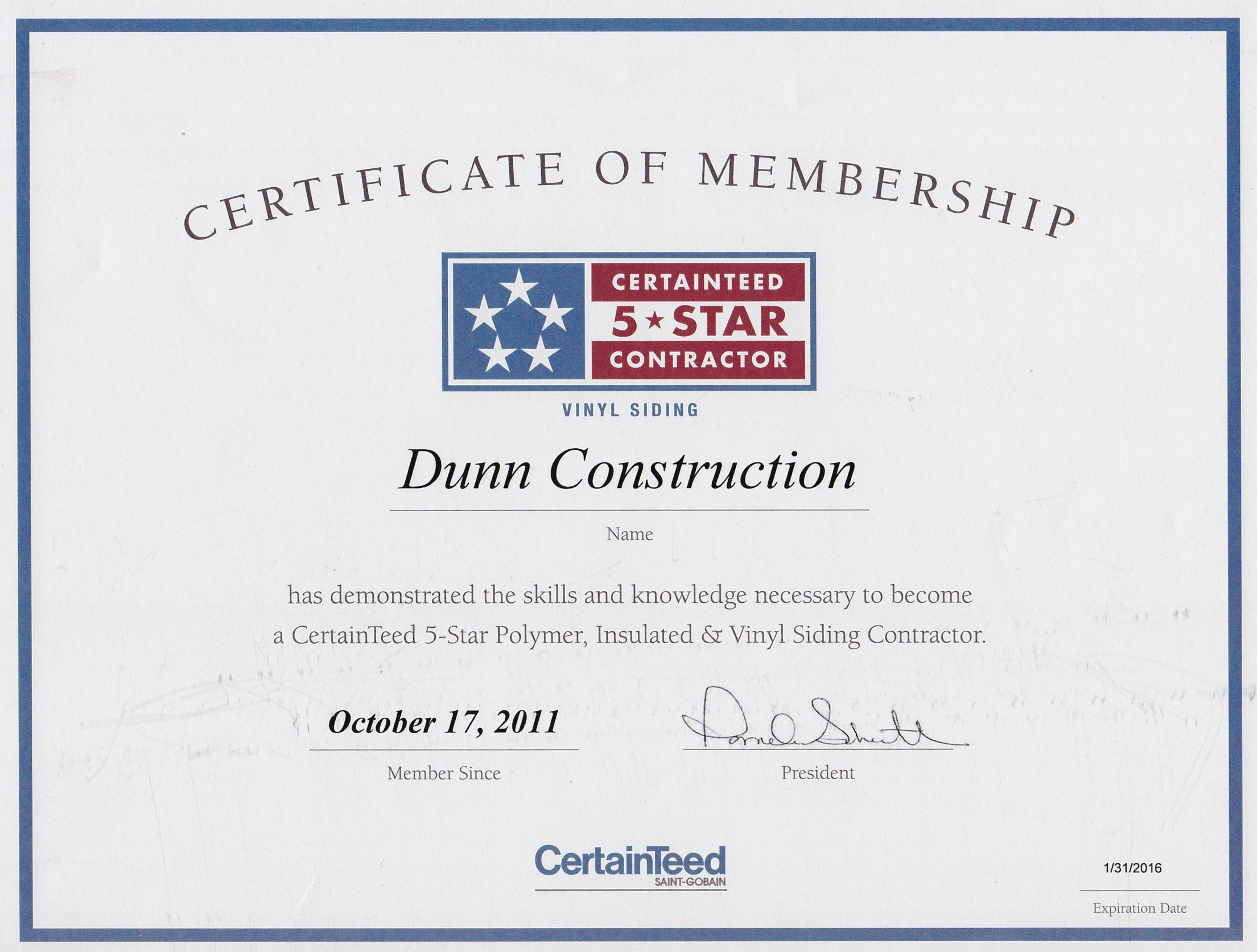 Certifications hr dunn construction 1betcityfo Image collections