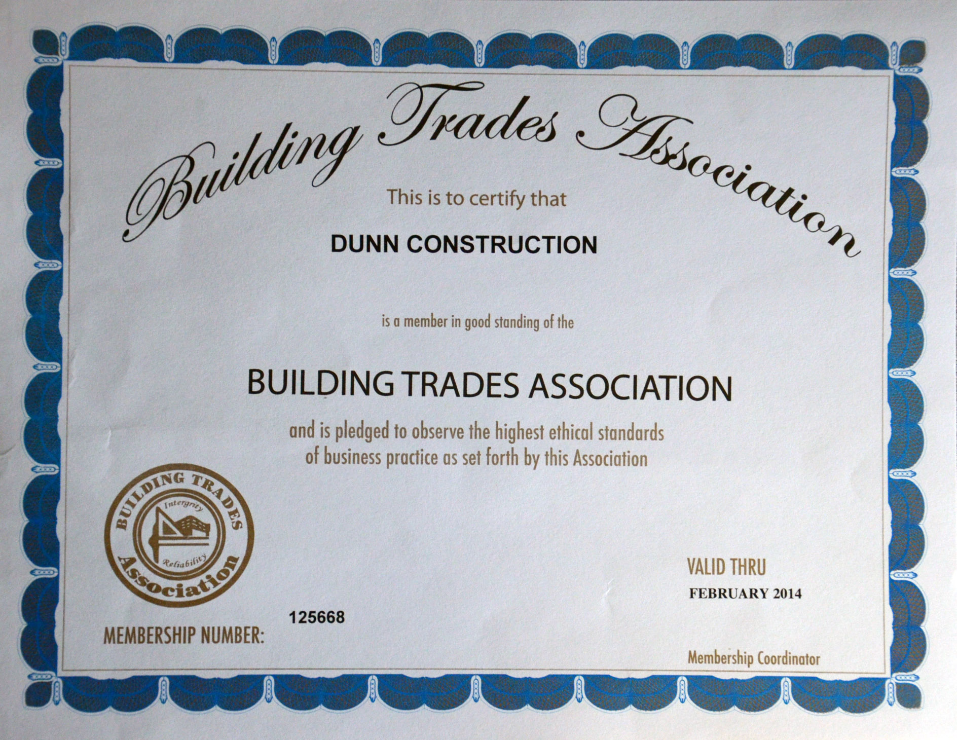 Certifications hr dunn construction 9 dsc8198 1betcityfo Image collections